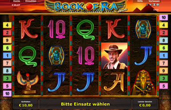 Book of Ra Deluxe Novoline Spielautomat