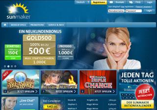 Sunmaker Casino Test